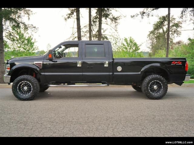2008 ford f350 crew cab long bed length
