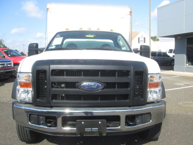 2008 ford f 450 diesel box truck liftgate dually commercial truck delivery. Black Bedroom Furniture Sets. Home Design Ideas