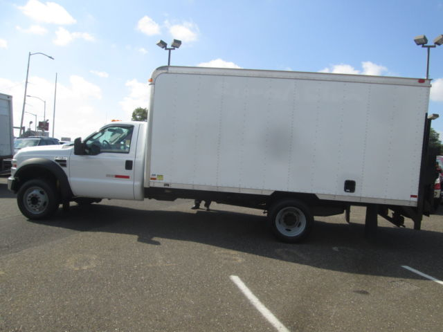 2008 Ford F 450 Diesel Box Truck Liftgate Dually