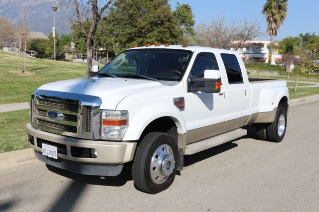 2008 ford f 450 king ranch pick up truck. Black Bedroom Furniture Sets. Home Design Ideas