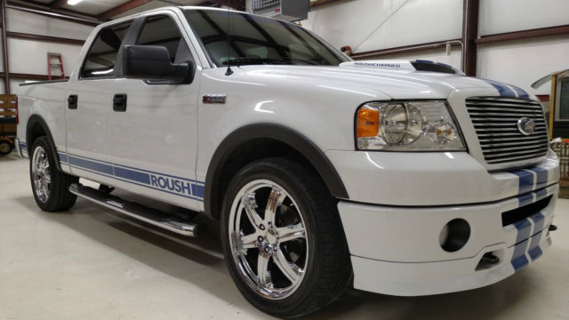 2008 ford f150 roush stage 3 supercharged fx4 lariat one owner low mileage truck. Black Bedroom Furniture Sets. Home Design Ideas