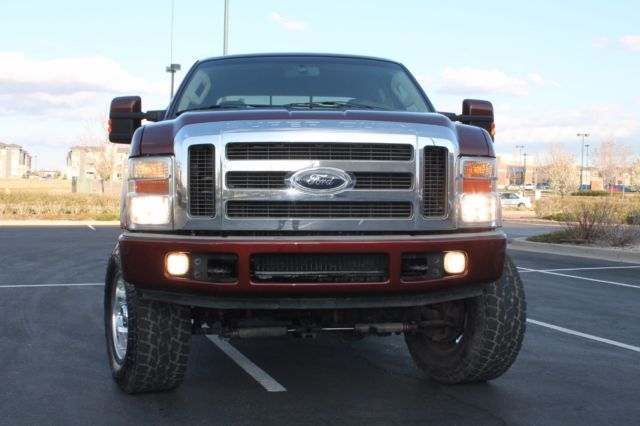 2008 ford f350 copper pick up lariat crewcab turbo diesel long bed lifted. Black Bedroom Furniture Sets. Home Design Ideas