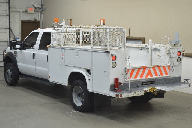 2008 ford f550 xl crew cab diesel dually utility bed 4wd for Dean motor cars houston tx