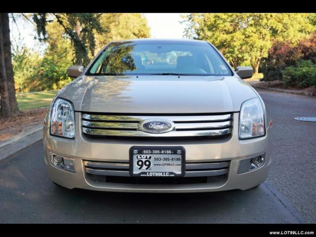 Ford Fusion 2008 Technical Specifications