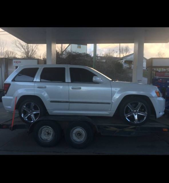 Used Jeeps For Sale In Ny: 2008 Grand Cherokee Jeep Srt8 Srt 8 RARE PEARL WHITE