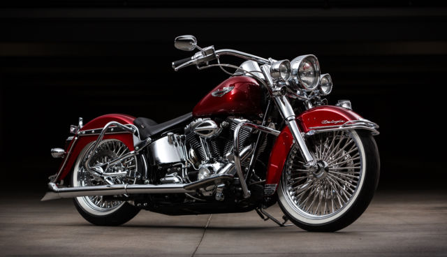 2008 Harley Davidson Cholo Style Heritage Softail Deluxe