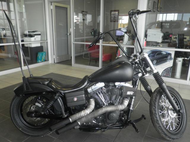 Toyota Danville Il >> 2008 Harley Davidson Dyna Street Bob FXDB Motorcycle ape hanger