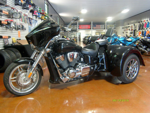 2008 Honda Vtx 1800 Custom Trike Built By Hapion