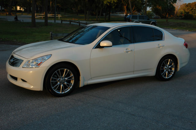 2008 Infiniti G35 S Rare Find 6 Speed Manual Trans Only 11k Miles No Reserve
