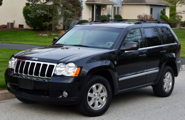 2008 jeep grand cherokee limited sport utility awd 4x4 5 7l hemi dvd leather nav. Black Bedroom Furniture Sets. Home Design Ideas