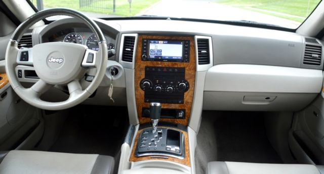 2008 Jeep Grand Cherokee Limited Sport Utility AWD 4X4 5 ...