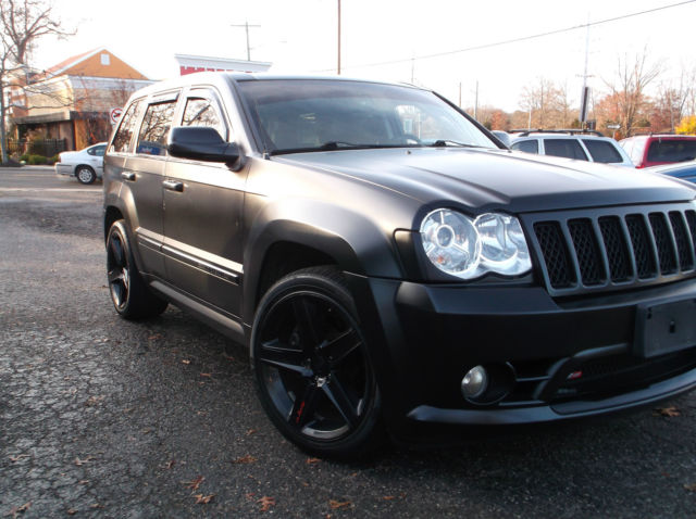 2008 Jeep Grand Cherokee Srt8 Sport Utility 4 Door 6 1l Sinister