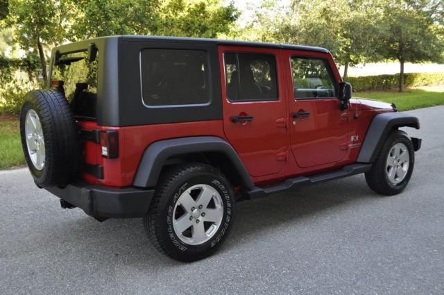 2008 jeep wrangler unlimited x 4 door hard top 3 8l v 6 automatic. Black Bedroom Furniture Sets. Home Design Ideas