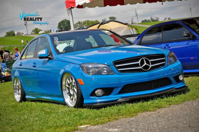 2008 mercedes benz c300 4matic sport sedan 4 door 3 0l custom showcar show car - Mercedes car show ...