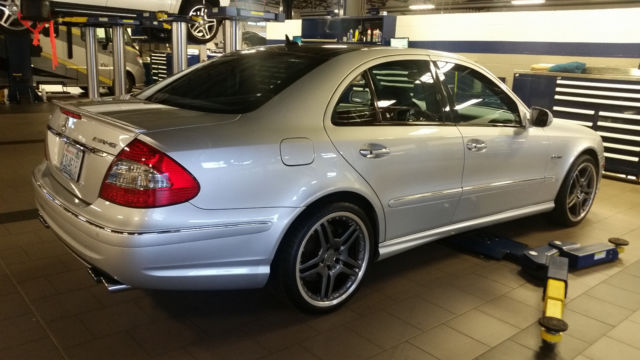 2008 Mercedes Benz E63 Amg Weistec Supercharged