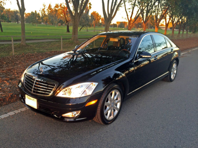 2008 mercedes benz s550 4matic black on black low miles fully loaded. Black Bedroom Furniture Sets. Home Design Ideas