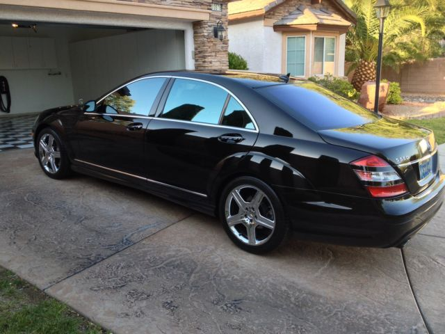 2008 Mercedes Benz S550 Amg Sport Package