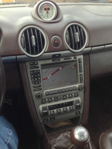 2008 Porsche Boxster S Manual Navigation Chrono All