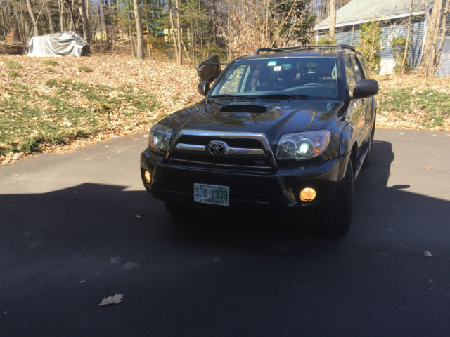 2008 toyota 4runner sport edition v8 4wd black excellent condition hid xenon. Black Bedroom Furniture Sets. Home Design Ideas