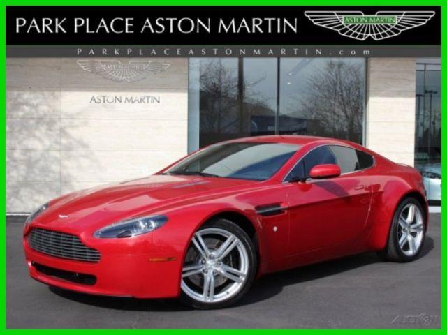 Aston Martin V Vantage L V V Automatic Fire Red On Black - Park place aston martin