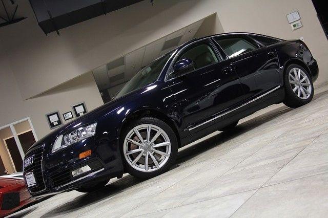 2009 Audi A6 Prestige Quattro Sedan Audi Navigation System