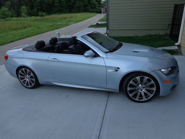 2009 Bmw M3 Hardtop Convertible Smg Auto Only 32k Miles Newer Tires