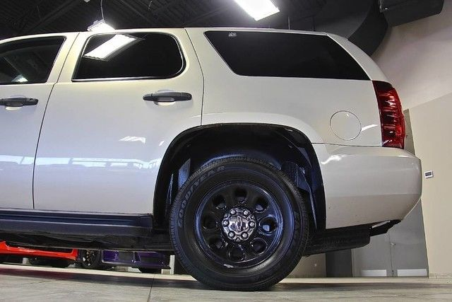 2009 Chevrolet Tahoe Police Package Suv K9 Unit Deleted