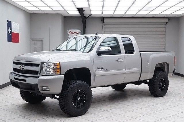 2009 chevy silverado 1500 2wd lt2 extended cab lifted leather texas truck. Black Bedroom Furniture Sets. Home Design Ideas