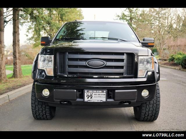 2009 ford f 150 xlt super cab 4x4 lifted 35s automatic 4. Black Bedroom Furniture Sets. Home Design Ideas