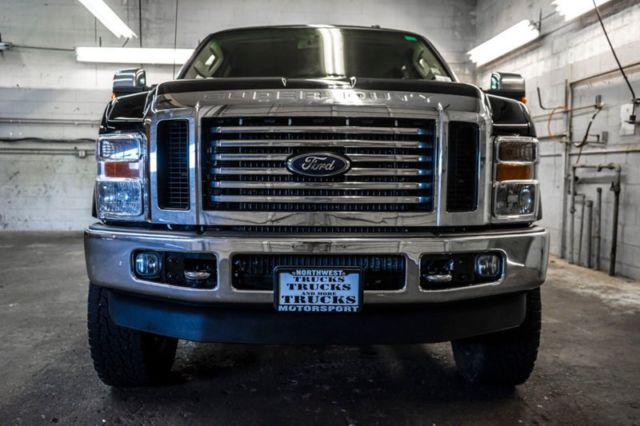 2009 Ford F350 Lariat 4x4 Powerstroke Super Duty Crew Cab Diesel Long Bed