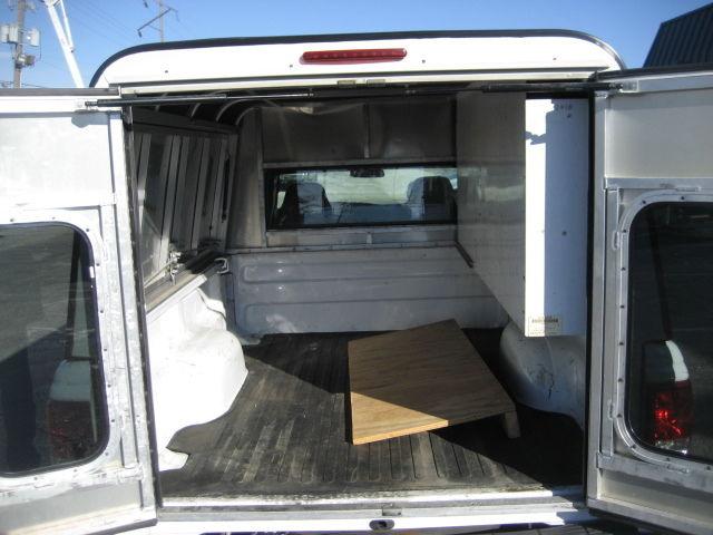 2009 Ford Ranger Supercab Pickup Commercial Camper Shell