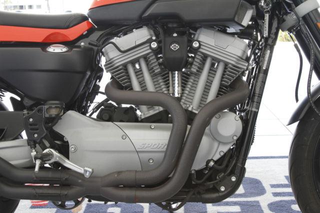 2009 HARLEY DAVIDSON XR1200 SPORTSTER ORANGE w/ EXTRAS