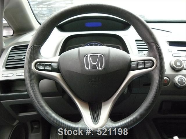 2009 HONDA CIVIC EX SEDAN AUTO SUNROOF ALLOY WHEELS 89K