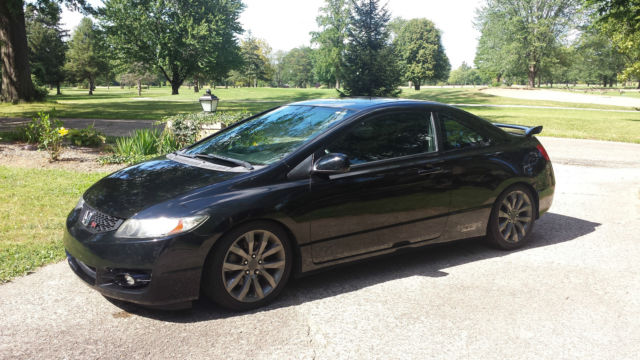 2009 Honda Civic Si Coupe Black Great Condition Please Read Listing