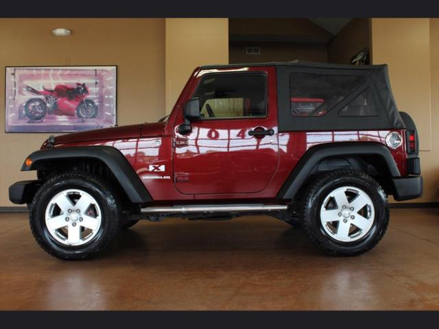 2009 jeep wrangler x 6 speed manual 2 door 4x4 soft top a. Black Bedroom Furniture Sets. Home Design Ideas