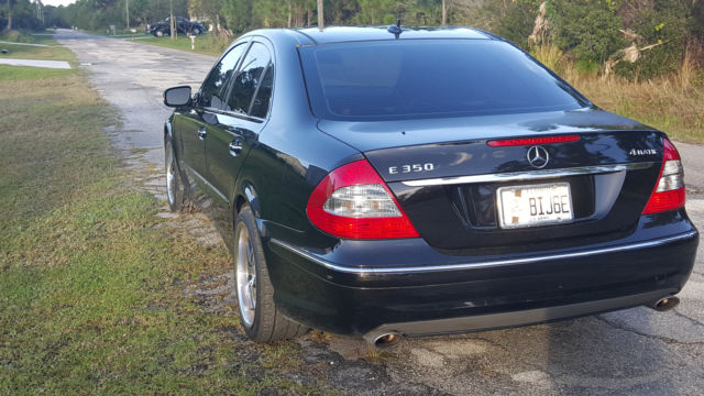 2009 Mercedes Benz E350 4MATIC AMG Sports Package