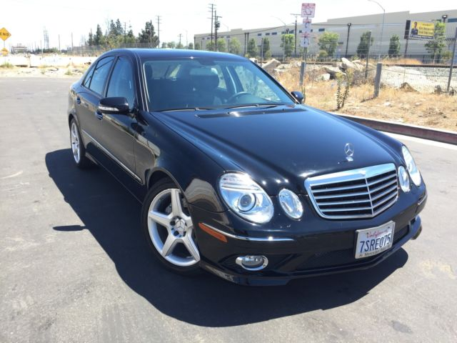 2009 MERCEDES BENZ E350 FULLY LOADED SPORT PACKAGE MINT CONDITION