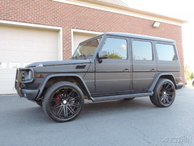 2009 mercedes benz g550 5 5l v8 4wd matte black g wagon. Black Bedroom Furniture Sets. Home Design Ideas