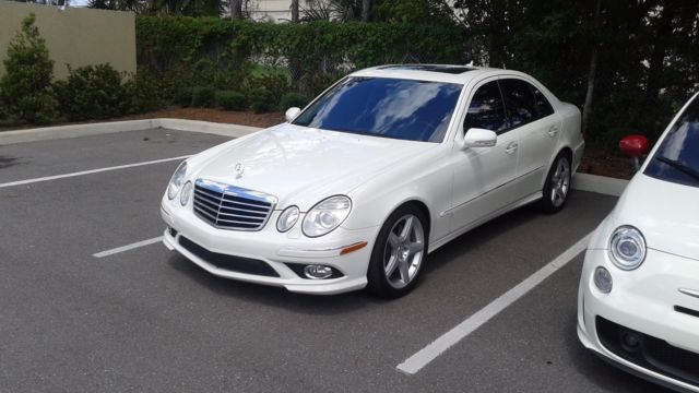 2009 MERCEDES E350 WITH AMG SPORT PACKAGE