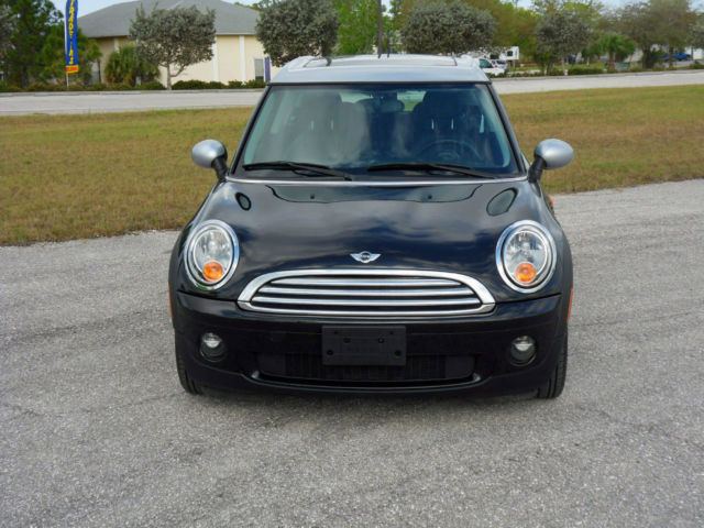 2009 mini cooper clubman automatic black silver. Black Bedroom Furniture Sets. Home Design Ideas
