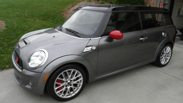 2009 mini john cooper works clubman jcw gray garage for Garage mini cooper annemasse