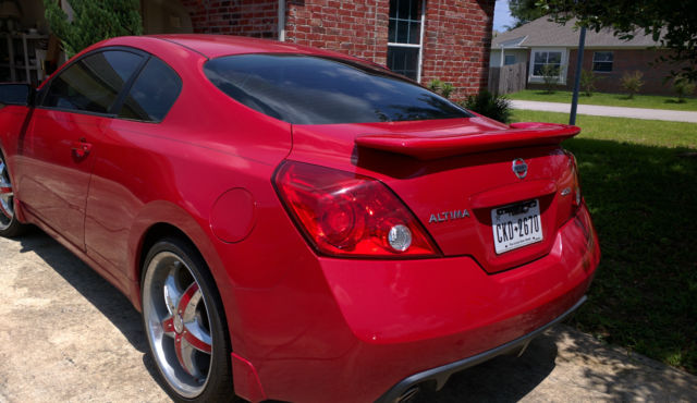 2009 Nissan Altima S Coupe 2 Door 25l Spoiler Sport Tires 481k Miles