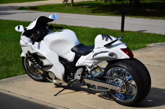 2009 Suzuki Hayabusa TURBO w/ 300 Fat tire kit & Fresh ...