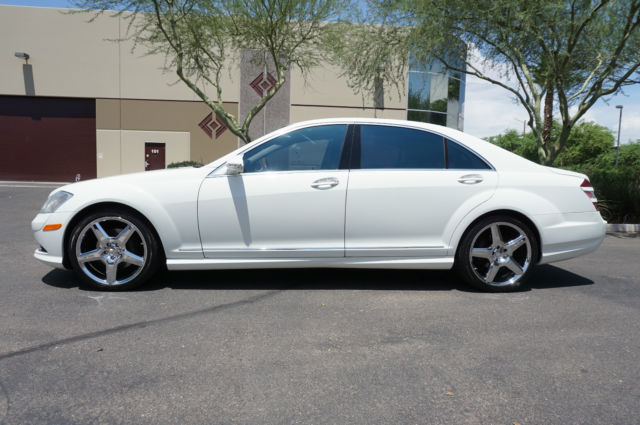 2009 white s550 amg sport pkg s class 550 sedan like 2007 for 2009 mercedes benz s550 amg