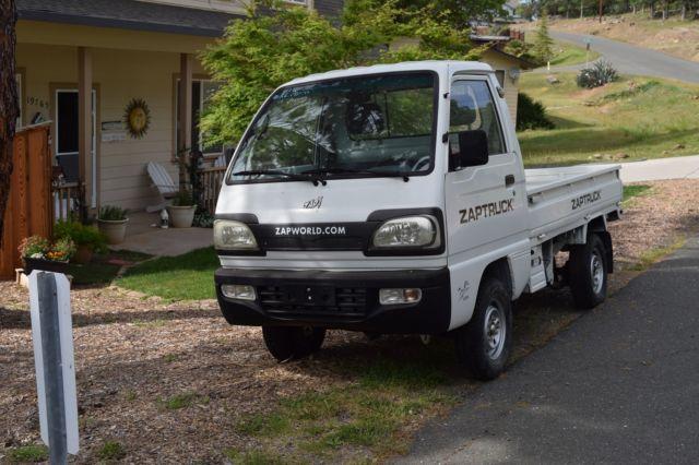 a0a5b1e5096089 2009 Zap XL Electric Truck    RUNS but needs Batteries