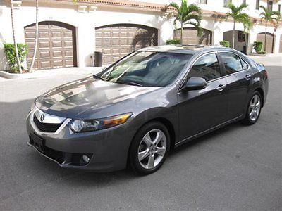 2010 acura tsx auto tech package grey on black salvage no accidents reduced. Black Bedroom Furniture Sets. Home Design Ideas