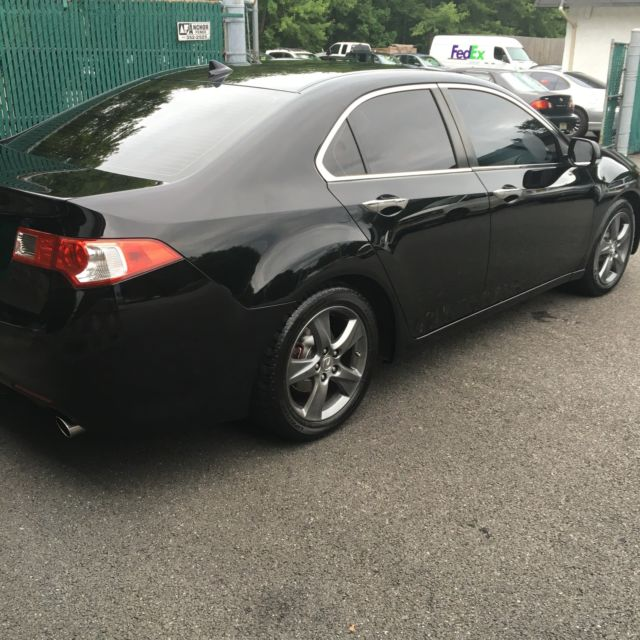 2010 ACURA TSX MANUAL LEATHER LOADED