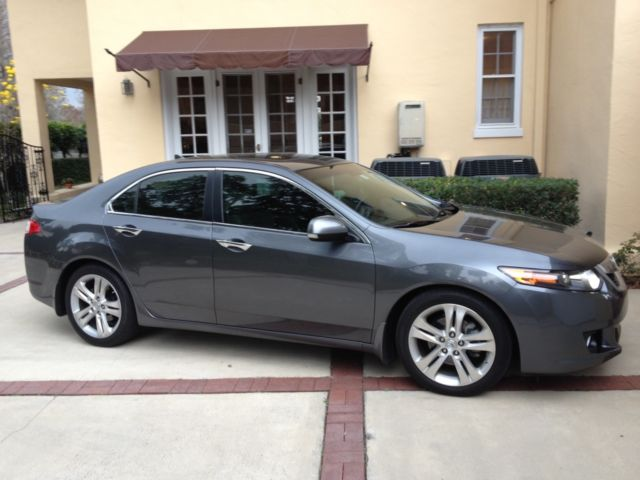 2010 Acura Tsx V6 W Technology Package Gray 37251 Miles Grey
