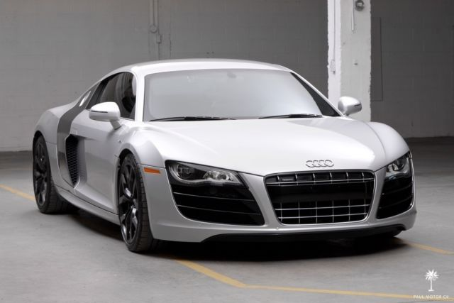 2010 audi r8 v10 5 2l 6 speed manual 27 402 miles bang olufsen rh veh markets com Audi A4 Sound System Audi A6 Speakers