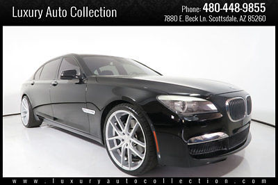 2010 BMW 760Li Custom Wheels Rear Entertainment Htd Ventilated Seats 11 09 750